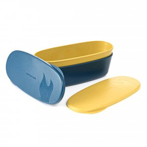 Light My Fire Snapbox Oval Bio (2-pack) Yellow/Blue