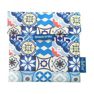 Roll'eat Snack'n Go Patchwork Blue