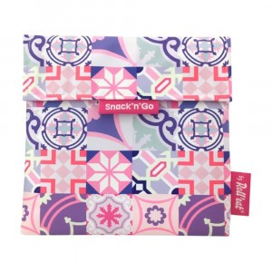 Roll'eat Snack'n Go Patchwork Pink