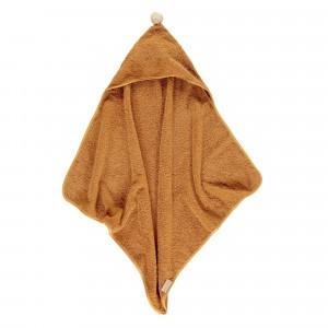 Nobodinoz So Cute Baby Badcape (73 x 73 cm) Caramel