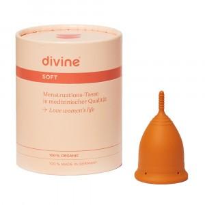 Divine Menstruatiecup Soft Nugget Gold