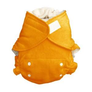 Popolini One Size Luier Ultrafit Soft Oranje