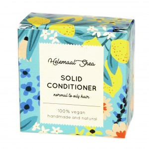 HelemaalShea Solid Conditioner, Vet haar