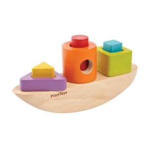 PlanToys Sorteerpuzzel Boot