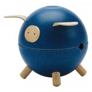 PlanToys Spaarvarken Blauw