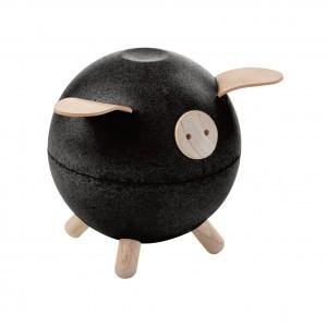 PlanToys Spaarvarken Zwart