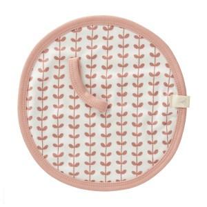 Fresk Speendoek Blaadjes Roze