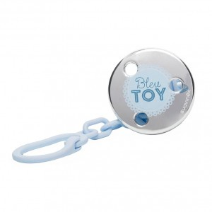 Suavinex Speenketting Rose & Bleu Toy Blauw