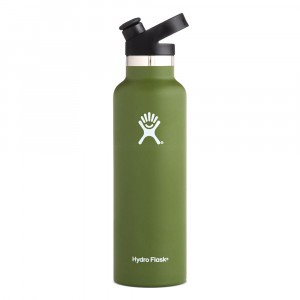 Hydro Flask Insulated Drinkfles Standard Mouth w/ Sport Cap (621 ml) Olive