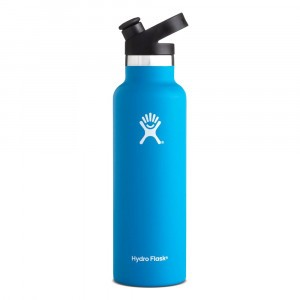 Hydro Flask Insulated Drinkfles Standard Mouth w/ Sport Cap (621 ml) Pacific