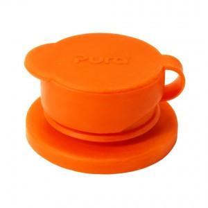 Pura Silicone Sportdop Oranje
