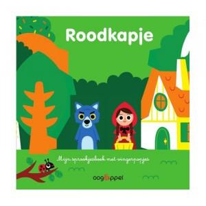Oogappel Mijn sprookjesboek met vingerpopjes: Roodkapje