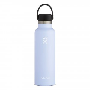 Hydro Flask Drinkfles Standard Mouth w/ Standard Flex Cap (621 ml) Fog
