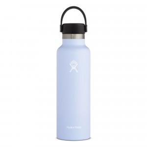Hydro Flask Insulated Drinkfles Standard Mouth w/ Standard Flex Cap (621 ml) Fog