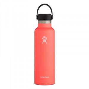 Tweede Kans product - Hydro Flask Insulated Drinkfles Standard Mouth w/ Standard Flex Cap (621 ml)