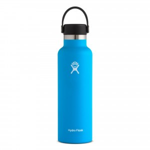 Hydro Flask Insulated Drinkfles Standard Mouth w/ Standard Flex Cap (621 ml) Pacific
