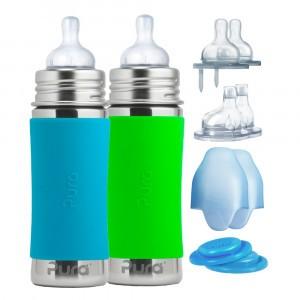 Pura Starterset 325 ml Aqua en Groen