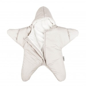 Baby Bites Trappelzak Ster Beige Winter Medium