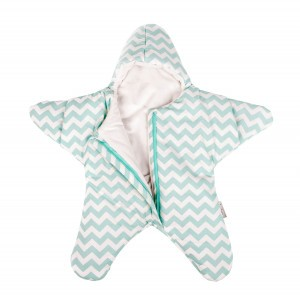 Baby Bites Trappelzak Ster Mint Winter Medium