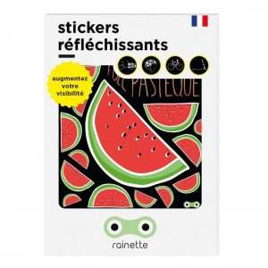 Rainette Reflecterende Stickers - Meloen