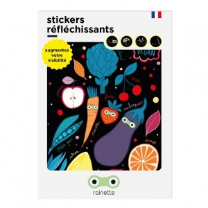 Rainette Reflecterende Stickers - Vegan