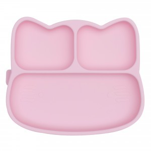 We Might Be Tiny Stickie Plate Kat - Powder Pink