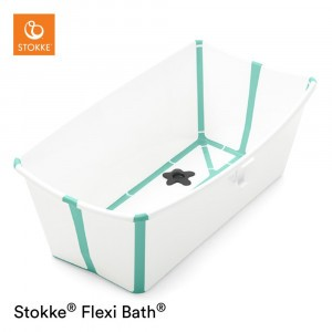 Stokke Flexi Bath White Aqua
