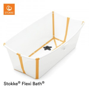 Stokke Flexi Badje White Yellow
