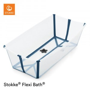 Stokke Flexi Bath X-Large Transparant Blue