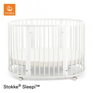 Stokke Sleepi Bed Ledikant White (incl. matras)
