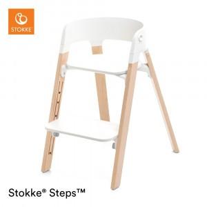 Stokke Steps Stoel White/Natural