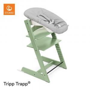 Stokke Tripp Trapp Stoel Moss Green + Newborn Set Grey