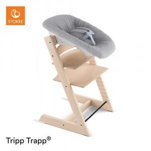 Stokke Tripp Trapp Stoel Natural + Newborn Set Grey