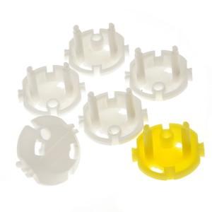 Jippie's Blinde Pluggen (5 stuks wit + 1 stuk geel)
