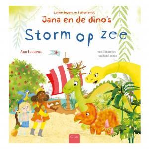 Clavis Leesboekje Jana en de dino's 'Storm op zee'