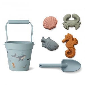 Liewood Strandspeelset Sea Creature Mix