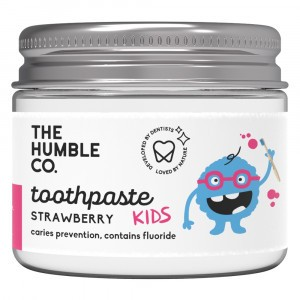 Humble Brush Zero Waste Tandpasta Kids - Aardbei (met fluor)