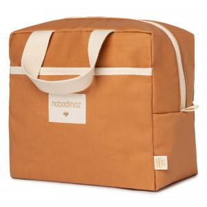 Nobodinoz Sunshine Insulated Lunch Bag Cinnamon
