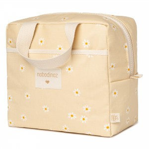 Nobodinoz Sunshine Insulated Lunch Bag Daisies