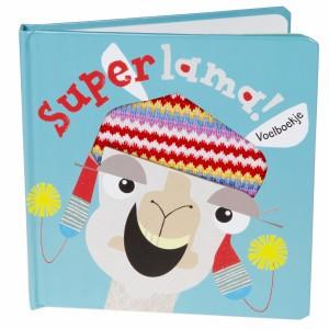 Witte Leeuw Voelboekje Superlama!