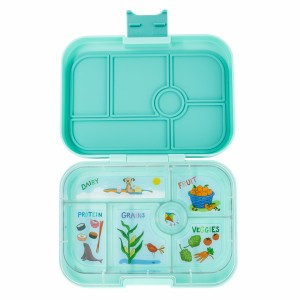 Yumbox Original Surf Green met Tray California