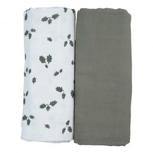 Fabelab Swaddle Oak Leaf (2-pack)