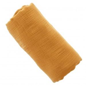 Mundo Melocoton Tetradoek Groot Organic Cotton Cinnamon