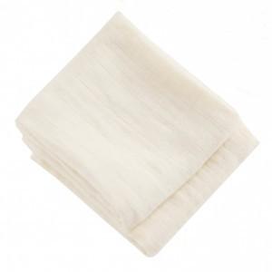 Mundo Melocoton Tetradoek Klein Organic Cotton Off White set van 2