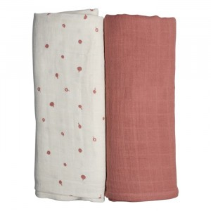 Fabelab Swaddle Wild Berry (2-pack)