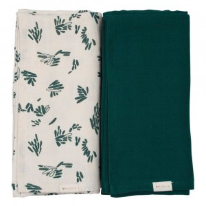 Fabelab Swaddle Forest Floor (2-pack)