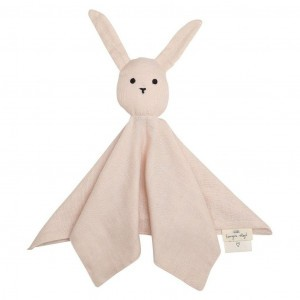 Konges Slojd Knuffeldoekje Sleepy Rabbit Rose Dust