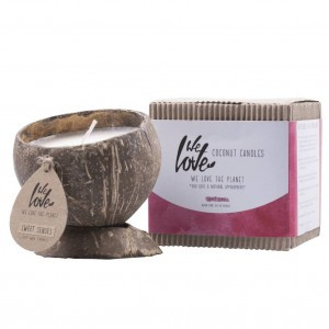 We Love The Planet Coconut Kaars - Sweet Senses