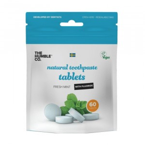 Humble Brush Tandpasta Tabletten met fluoride