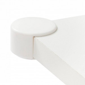 Jippie's Dubbele Tafelhoekjes Wit (4 stuks)